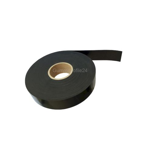 3x15 mm EPDM/SBR Gummistreifen schwarz (10 Meter/Rolle)