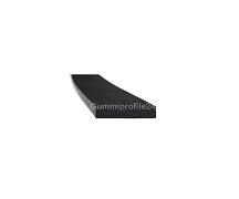 2x10 mm EPDM Moosgummi-Vierkantprofil schwarz