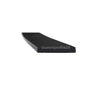 3x20 mm EPDM Moosgummi-Vierkantprofil schwarz