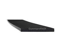3x30 mm EPDM Moosgummi-Vierkantprofil schwarz
