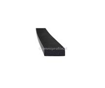 4x10 mm EPDM Moosgummi-Vierkantprofil schwarz