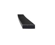 4x12 mm EPDM Moosgummi-Vierkantprofil schwarz