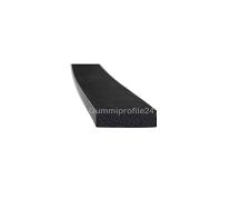 4x15 mm EPDM Moosgummi-Vierkantprofil schwarz