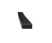 5x10 mm EPDM Moosgummi-Vierkantprofil schwarz