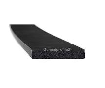 5x30 mm EPDM Moosgummi-Vierkantprofil schwarz