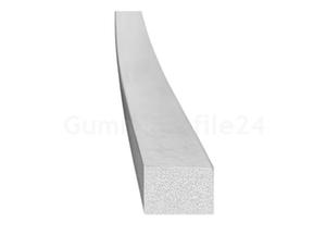 EPDM Moosgummi-Vierkantprofil grau