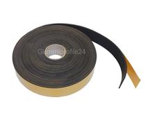 2x9 mm EPDM Zellkautschukstreifen selbstklebend (Montagehilfe) - Rolle 10 Meter